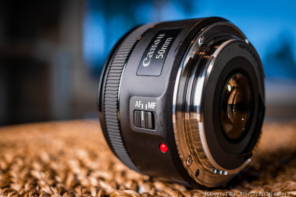 "Canon's lowest priced lens doesn't ""cheap out""--just look at that shiny, durable, metal lens mount!"